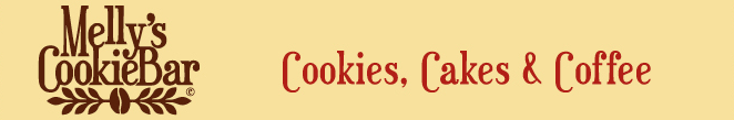 Melly's CookieBar � Cookies, Cakes & Coffee